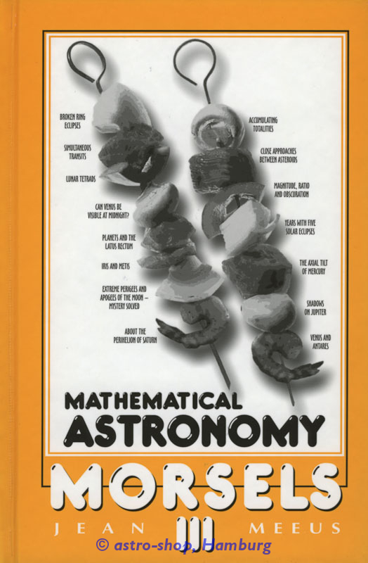 Mathematical Astronomy Morsels III
