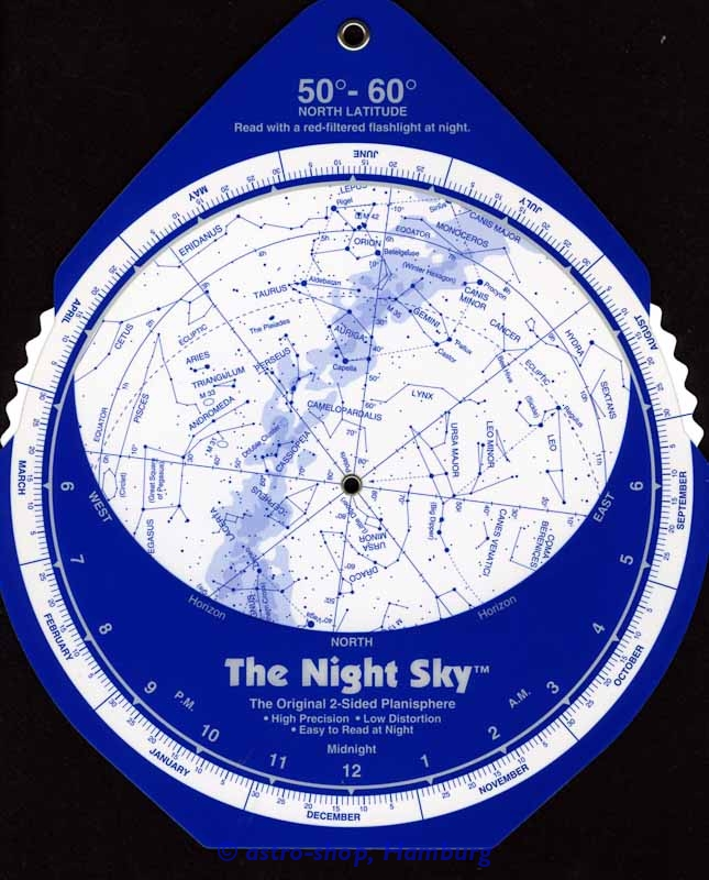 The Night Sky 50-60° Nord